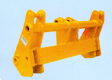 Quick attach couplers for Wheel loaders