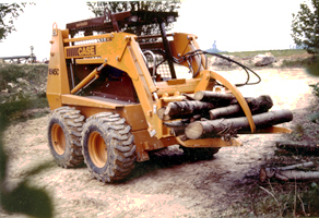 Log clamps - Skid steer loaders
