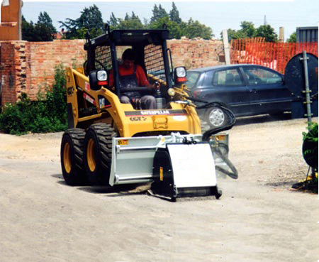 Cold planers for Skid steer loaders and articulated loaders